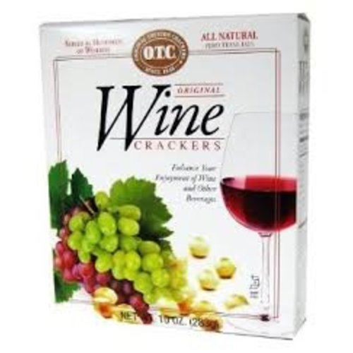 OTC Wine crackers 10 oz box