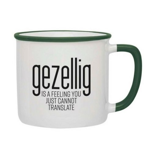 Gezellig is a feeling Mug - Green
