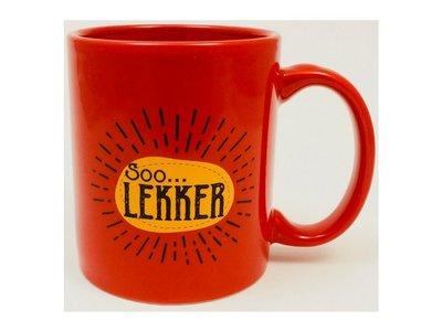 Soo Lekker Coffee Mug - Red Out of Stock