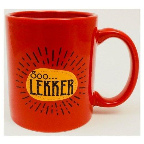Soo Lekker Coffee Mug - Red