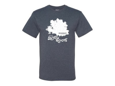 Michigan Grown Dutch Roots T shirt small Vintage Blue