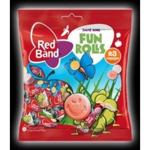 Red Band Red Band Mixed Fun Rolls 184g