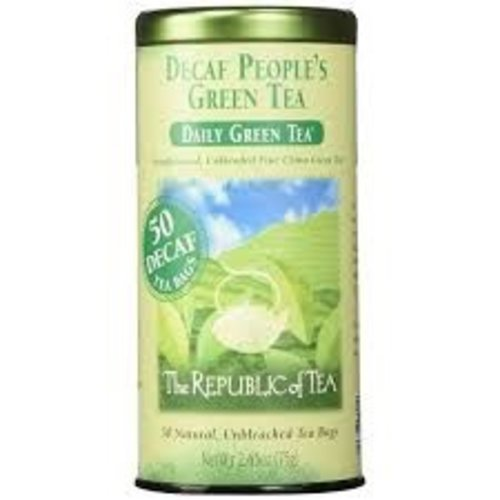 Republic Of Tea Republic Decaf The Peoples Green Tea 50 Ct