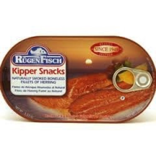 Rugenfisch Rugenfisch Kipper Snacks Smoked Herring Fillet