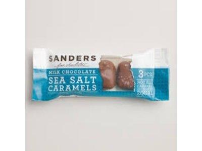 Sanders Sanders 3 pc SS Milk choc caramel 1.5 oz