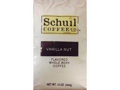 Schuil Schuil Vanilla Nut Flavored Coffee 12oz