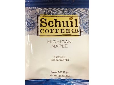 Schuil Schuil Coffee Michigan Maple 1.25 Oz Packet