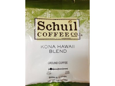 Schuil Schuil Coffee Kona Hawaiian Blend 1.25 Oz Packet