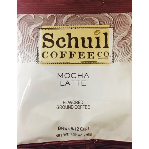 Schuil Schuil Coffee Mocha Latte 1.25 Oz Packet