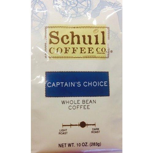 Schuil Schuil Captains Choice Dark Roast 10 oz Coffee