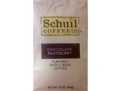 Schuil Schuil Chocolate Raspberry Flavored Coffee 12oz