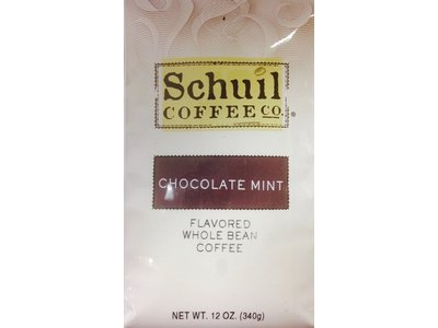 Schuil Schuil Chocolate Mint Flavored Coffee 12oz