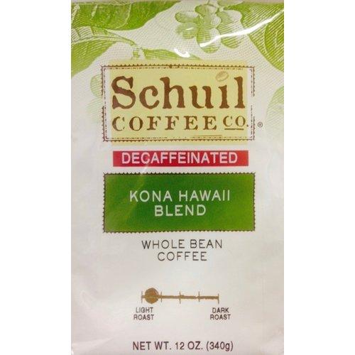 Schuil Schuil Kona Hawaii Medium Blend Coffee12oz Decaf