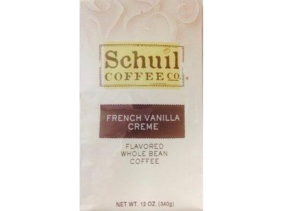 Schuil Schuil French Vanilla Creme Dark Roast Coffee12oz