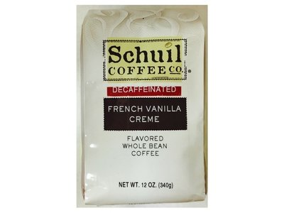 Schuil Schuil French Vanilla Dark Roast Coffee 12oz Decaf