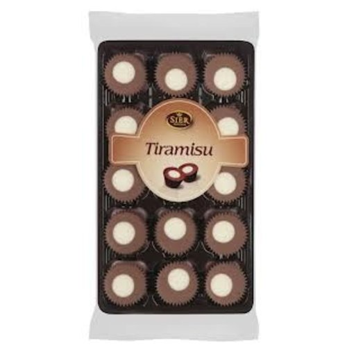 Sier Tiramisu Chocolate Cups 4.4 oz Tray