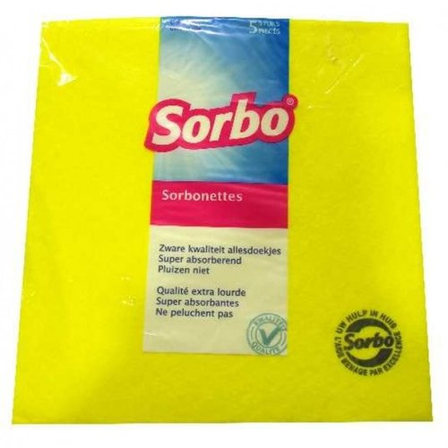 Sorbo Sorbo Sorbonettes 5 pack cleaning clothes