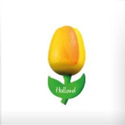 Tulip on Magnet Yellow/Orange