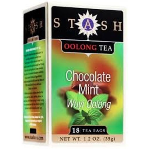 Stash Stash Chocolate Mint Wuyi Oolong 18 ct