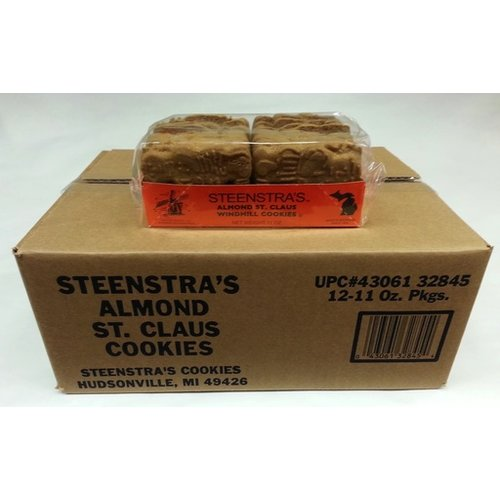 Steenstra Speculaas Windmill Cookies 12 Pack Case