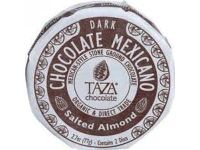 Taza Salted Almond Chocolate Disc