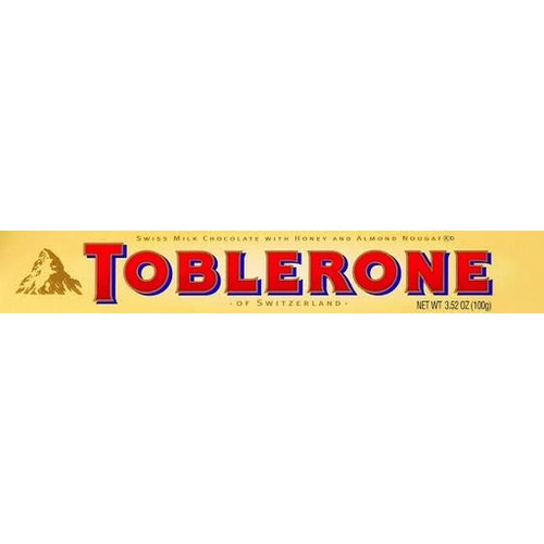 Toblerone Toblerone Milk Chocolate Bar 3.5 Oz