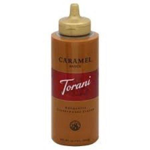 Torani Torani Caramel Sauce Squeeze Bottle 16.5 Oz