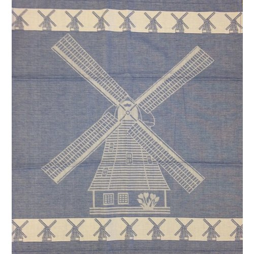 Twenstse Tea Towel Large Mill Blue 25x23 inch