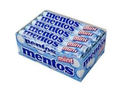 Van Melle Mentos Peppermint 15 Ct Box