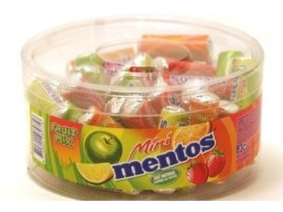 Van Melle Mentos 48Ct Mini Tub