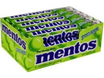 Van Melle Mentos Green Apple 15 Ct Box
