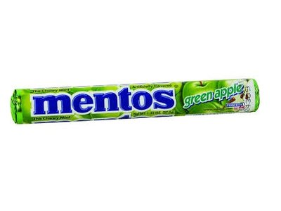 Van Melle Mentos Green Apple Roll