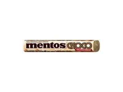 Van Melle Mentos Choco White Roll white chocolate center 1.3 oz