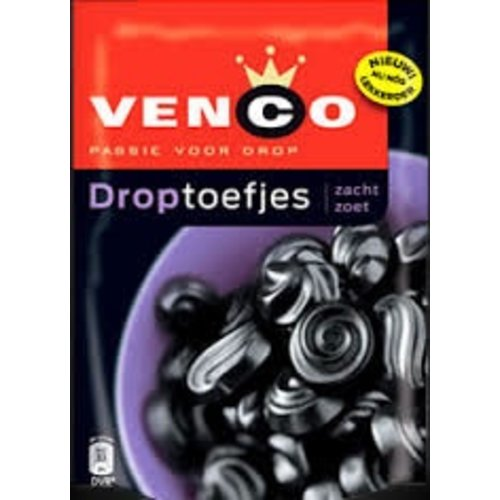 Venco Venco Droptoefjes Soft & Sweet 265g bag
