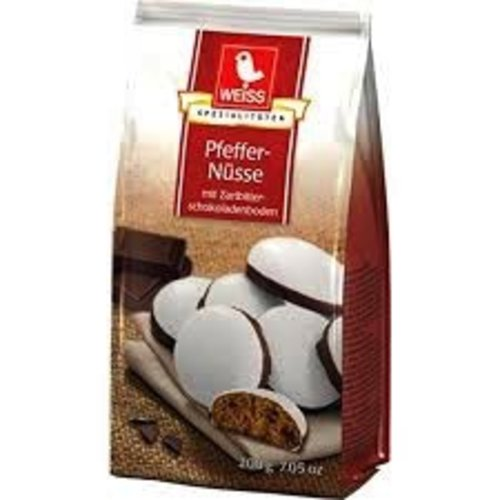 Weiss Weiss Chocolate Pfeffernusse Bag