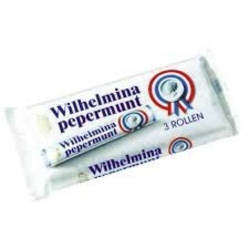 Wilhelmina Wilhelmina Peppermint Rolls 3Pk