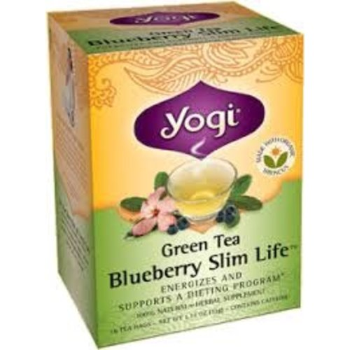 Yogi Yogi Teas Organic Green Tea Blueberry Slim Life