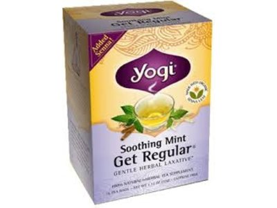 Yogi Yogi Teas Organic Get Regular Mint