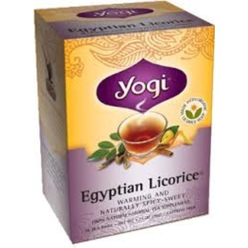 Yogi Yogi Teas Organic Egyptian Licorice