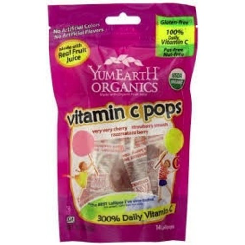 Yummy Earth Yummy Earth Vitamin C Pops