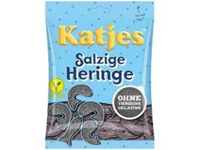 Katja Katjes Licorice Fish shapes 7 Oz bag