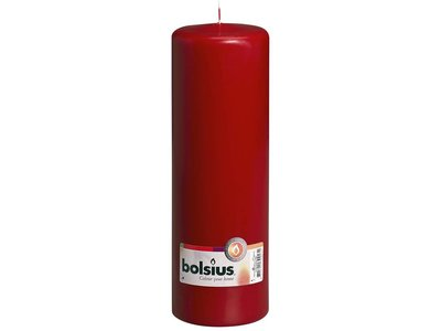 Bolsius Bolsius Pillar Candle Wine Red 5.9 x 3.1 inch