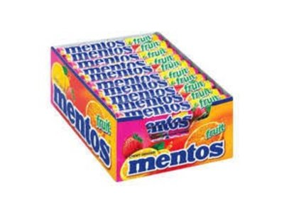 Van Melle Mentos Mixed Fruit 40 ct BOX