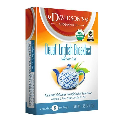 Davidsons Davidsons Decaf English Breakfast tea