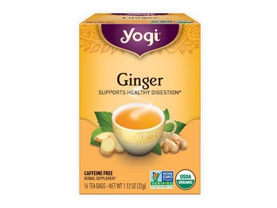 Yogi Yogi Organic Ginger tea 16 ct