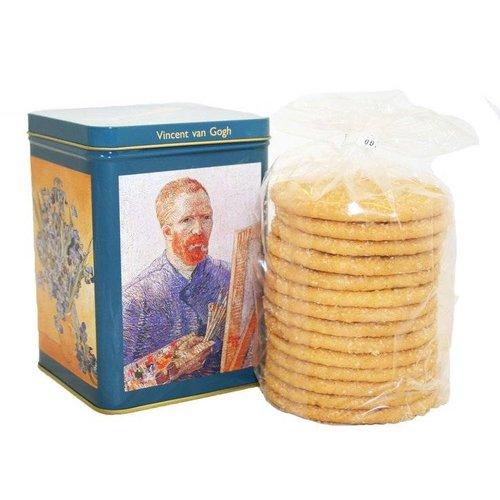 Van Gogh Tin with sugar cookies
