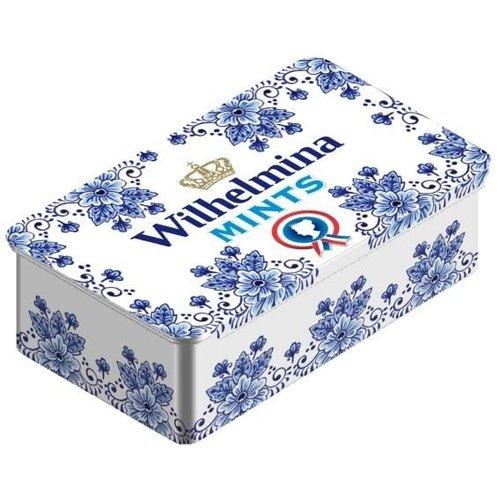 Wilhelmina Wilhelmina Peppermint Mini Delft Tin Slide Top  3.5 oz