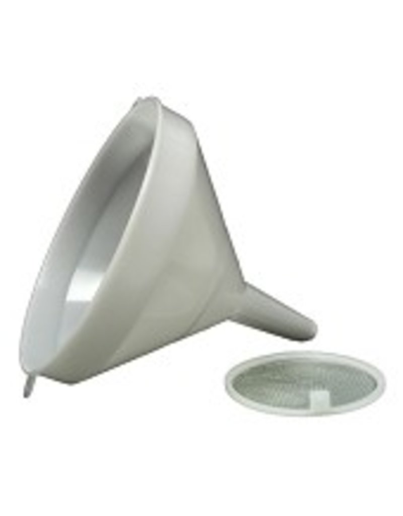 BREWMASTER Funnel - 21 cm (8-1/4 in) - White Plastic
