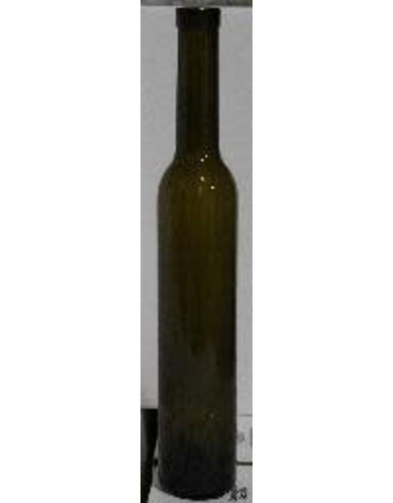 BSG HANDCRAFT BOTTLE- 375mL ANTIQUE GREEN BELLISSIMA BOTTLES CORK FINISH 12/CASE