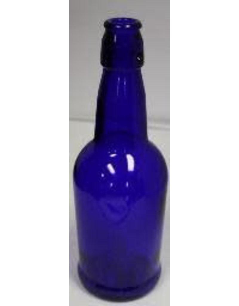 BSG HANDCRAFT EZ CAP BOTTLES  16oz COBALT BLUE